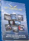Vestek Venetarvikeluettelo